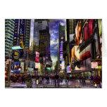Foto del Times Square en HDR Felicitacion