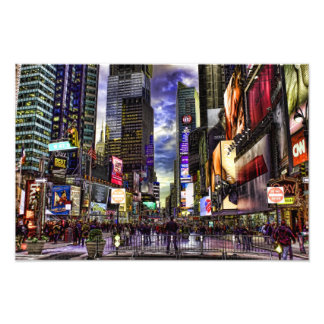 Foto del Times Square en HDR Fotografía