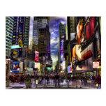 Foto del Times Square en HDR Tarjetas Postales