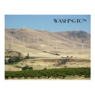 Foto del viaje de los viñedos del estado de tarjetas postales