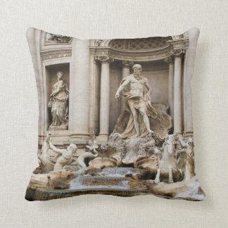 Foto del viaje de Roma Italia de la fuente del Cojín