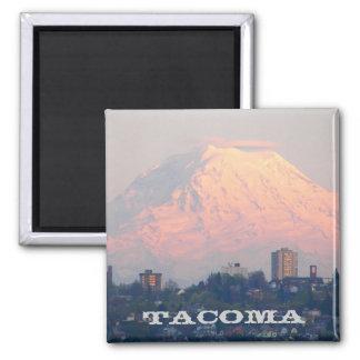 Foto del viaje de Tacoma, Washington Imán Cuadrado