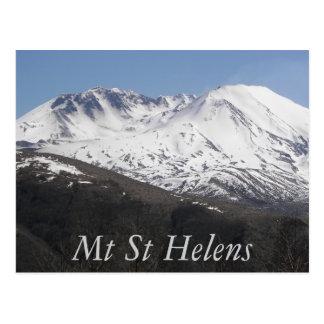 Foto del viaje del cráter del Monte Saint Helens Postal