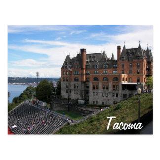 Foto del viaje del hito histórico de Tacoma Tarjeta Postal