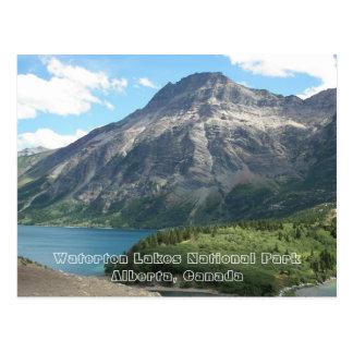 Foto del viaje del parque nacional de los lagos tarjetas postales