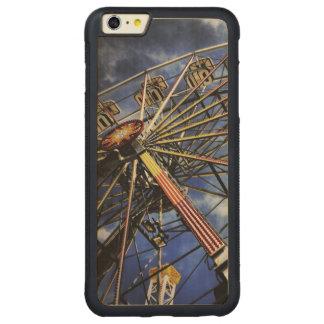 Foto del vintage de la noria funda de arce bumper carved® para iPhone 6 plus