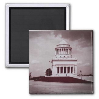 Foto del vintage de la tumba de Grant Imán Cuadrado