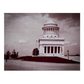 Foto del vintage de la tumba de Grant Postal