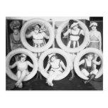 Foto del vintage de los chicas del encanto de Mack Tarjetas Postales