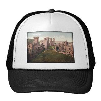 Foto del vintage de País de Gales del castillo de  Gorro