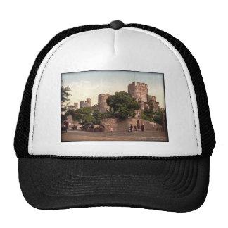 Foto del vintage de País de Gales del castillo de  Gorra