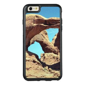 Foto doble llamativa del desierto del arco funda otterbox para iPhone 6/6s plus