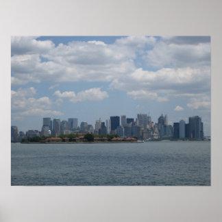Foto enmarcada de New York City 2 Poster