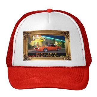 Foto enmarcada gorra del transporte