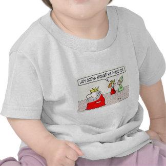 foto estropeada godiva de la señora del rey de Op. Camiseta