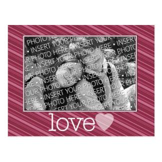Foto feliz del día de San Valentín Tarjetas Postales