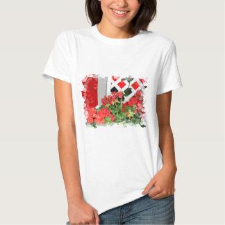 Foto floral de las flores de la naturaleza roja playera