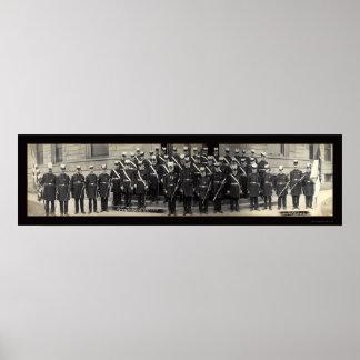 Foto fraternal 1910 del peregrinaje impresiones
