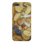 foto frita de la comida de las cebollas del queso  iPhone 5 carcasas