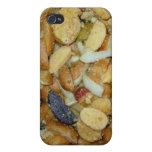 foto frita de la comida de las cebollas del queso  iPhone 4/4S carcasa