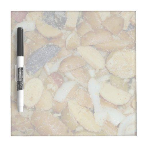 foto frita de la comida de las cebollas del queso  pizarras blancas de calidad