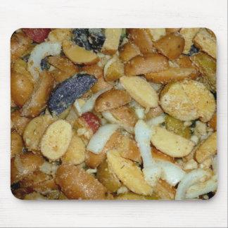 foto frita de la comida de las cebollas del queso  alfombrillas de ratones