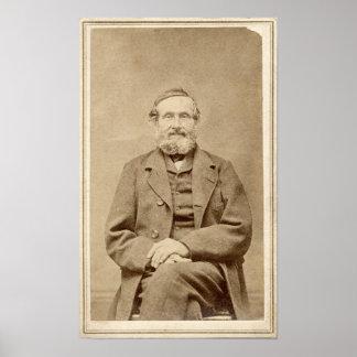 Foto From 1860 del albumen CDV del vintage del vie