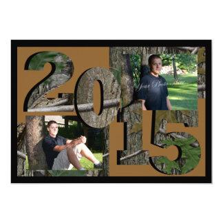 Foto gemela 2015 de Camo del árbol Brown