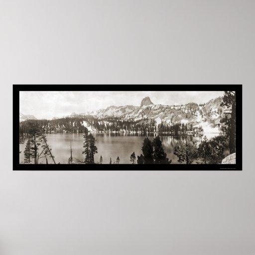 Foto gigantesca 1911 de CA de los lagos Posters
