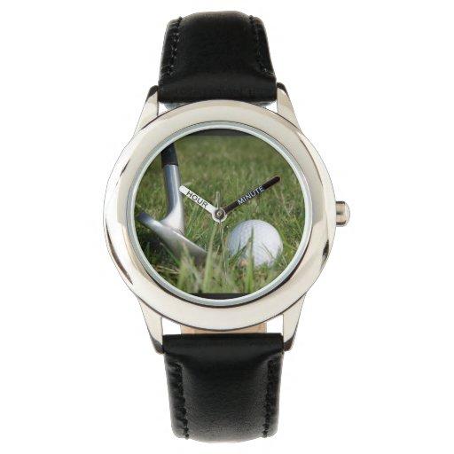 Foto Golfing Reloj De Mano