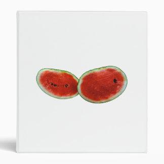 foto gráfica de la fruta de dos sandías