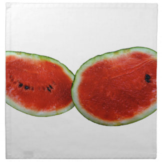 foto gráfica de la fruta de dos sandías servilletas de papel