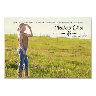 Foto hermosa con la invitación de Flourish-3x5Grad