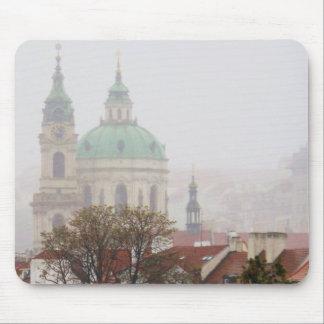 Foto hermosa de la ciudad vieja Praga Mouse Pads