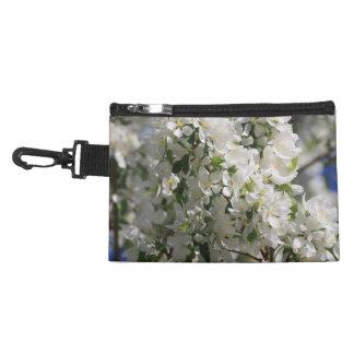 Foto hermosa de la naturaleza del flor blanco de