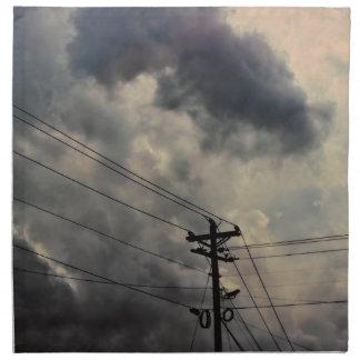 Foto hermosa del cielo de la naturaleza de la nube servilletas