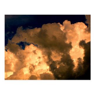 Foto hermosa del cielo de la naturaleza de la nube tarjetas postales