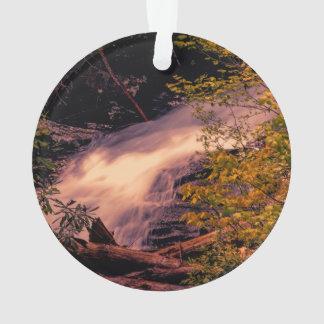Foto hermosa del paisaje de la cascada