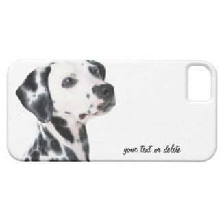 Foto hermosa del perro dálmata, regalo iPhone 5 Case-Mate carcasa
