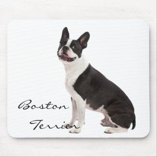 Foto hermosa del perro de Boston Terrier, regalo d Tapetes De Ratones