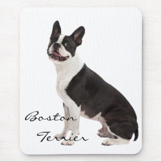 Foto hermosa del perro de Boston Terrier, regalo d Tapete De Ratones
