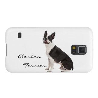 Foto hermosa del perro de Boston Terrier, regalo Funda Para Galaxy S5