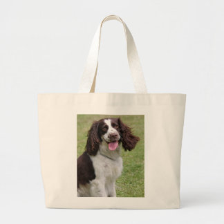 Foto hermosa del perro del perro de aguas de salta bolsa tela grande