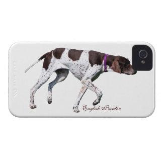 Foto hermosa del perro inglés del indicador regal iPhone 4 cobertura