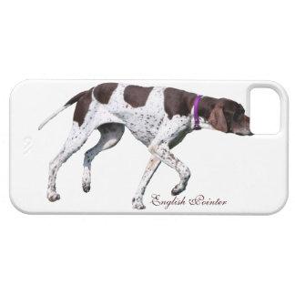 Foto hermosa del perro inglés del indicador regal iPhone 5 coberturas