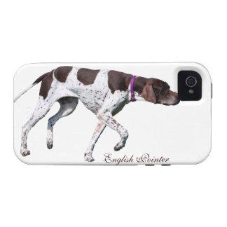 Foto hermosa del perro inglés del indicador regal iPhone 4 carcasa