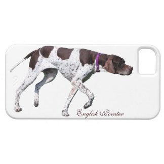 Foto hermosa del perro inglés del indicador regal iPhone 5 funda