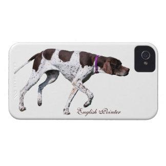 Foto hermosa del perro inglés del indicador regal Case-Mate iPhone 4 protectores