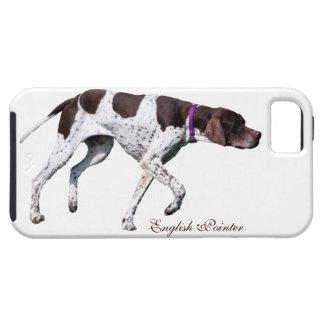 Foto hermosa del perro inglés del indicador regal iPhone 5 Case-Mate protector