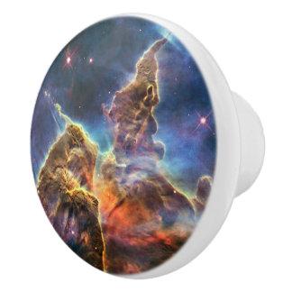 Foto imponente de la ciencia de la astronomía de pomo de cerámica